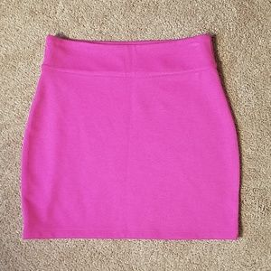 Silence and Noise pink mini skirt size medium